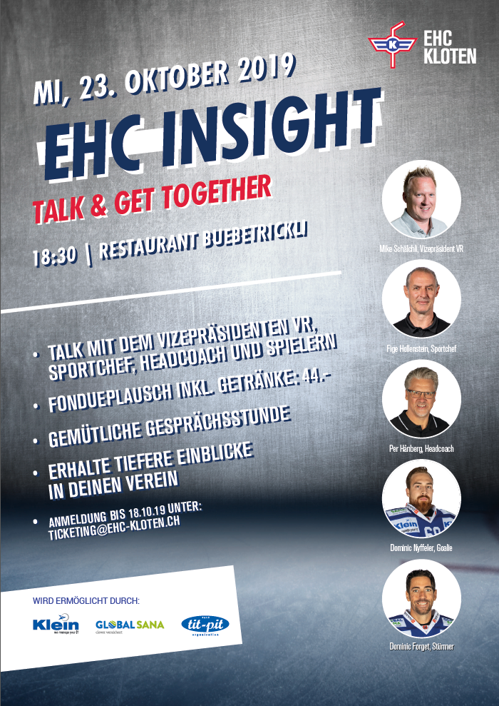 20191023 Flyer Insight Talk