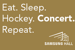 Samsung Hall Banner Eat Sleep 300x200